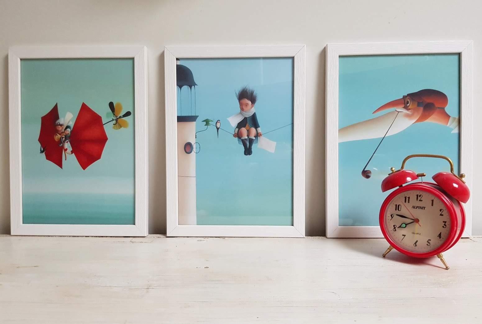 שלישית תמונות לחדר ילדים