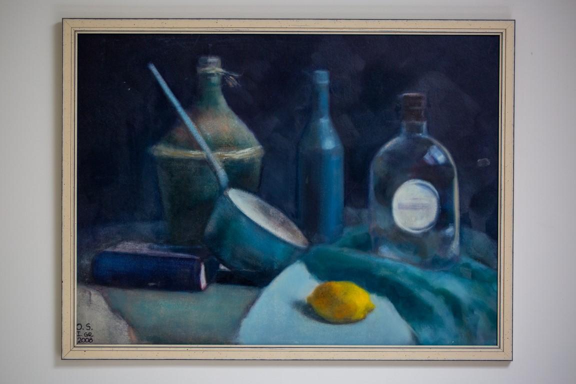 תמונת כלי מטבח כחולים
